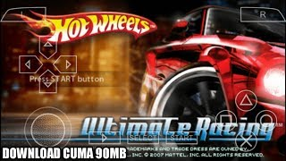 Cara Download Game Hot Wheels Ultimate Racing PPSSPP Android