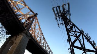 ⁴ᴷ⁶⁰ Walking NYC : Roosevelt Island Tour from Costco Wholesale, Astoria, Queens