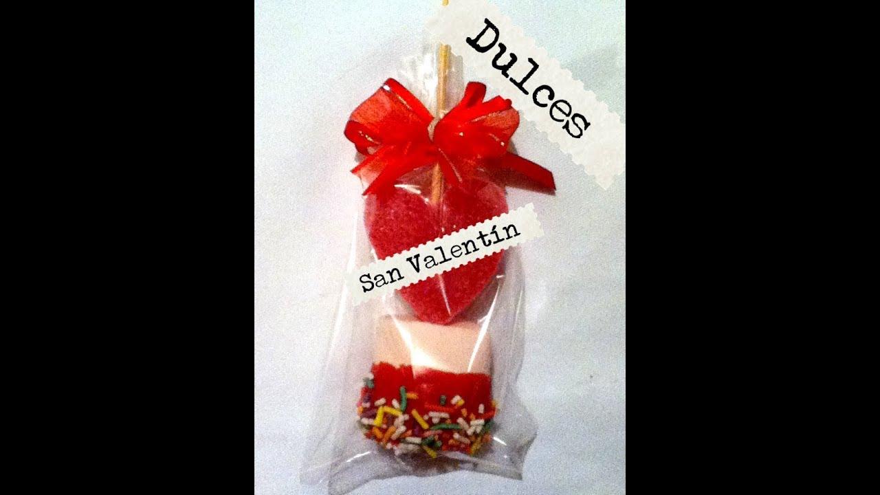 Dulces para d a de san valent n bomb n chocolate f cil - Ideas para regalar en san valentin ...