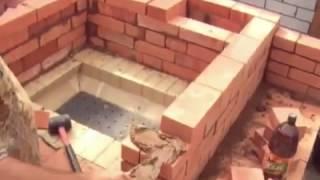 Как сделать камин из кирпича видео(Показательное изготовление камина, мангала из кирпича. Много самоделок здесь - http://tvoi-podelki.ru/?p=622., 2013-04-17T16:09:56.000Z)