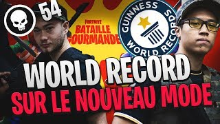 WORLD RECORD SUR LE NOUVEAU MODE FORTNITE - 54 KILLS
