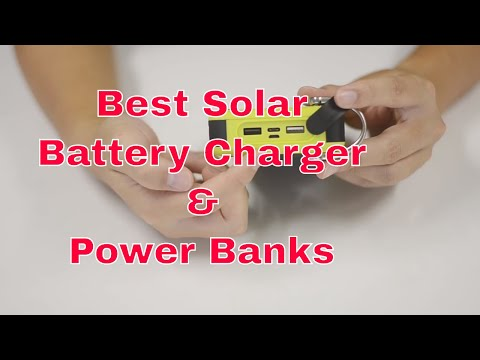 Best Solar Battery Charger & Power Banks