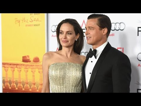 Angelina Jolie Calls Sex Scenes With Brad Pitt 'The Strangest Thing in the World' thumbnail