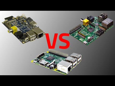 Review: Raspberry Pi 2 vs. Banana Pi vs. Raspberry Pi [GERMAN/DEUTSCH]