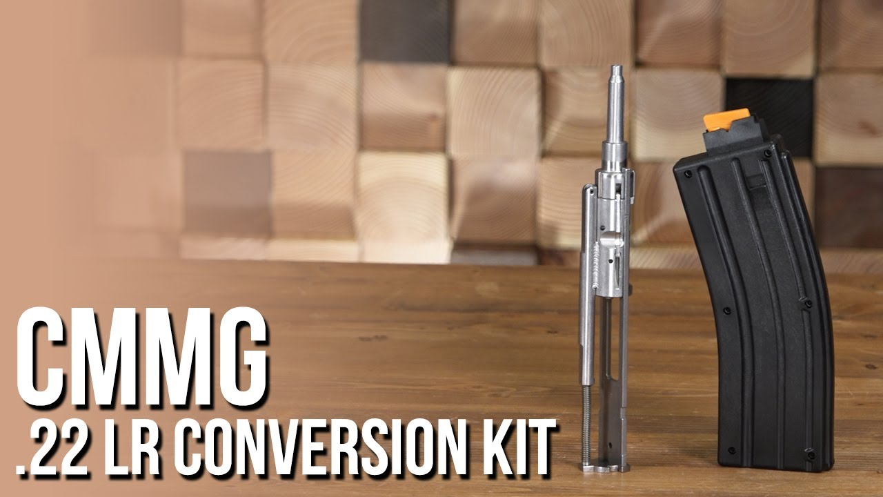CMMG .22 LR Conversion Kit - Perfect for Training!