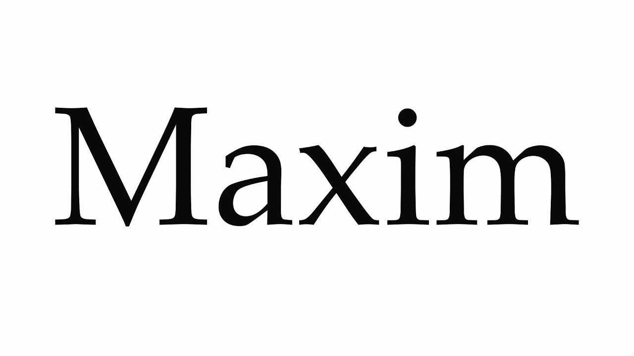 The meaning of the name Maxim and life perspectives 65