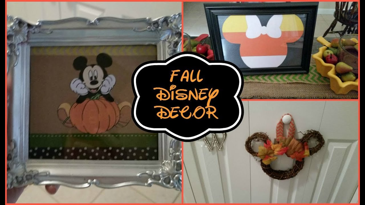 Disney Diy Fall Home Decor