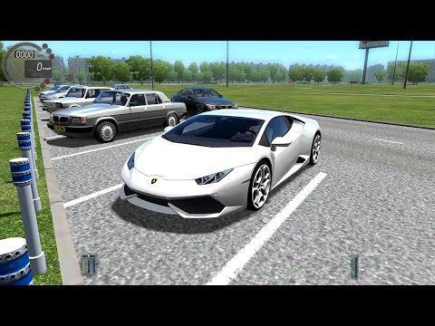 City Car Driving 1.4.1 Lamborghini Huracan Gameplay With Logitech G27!
