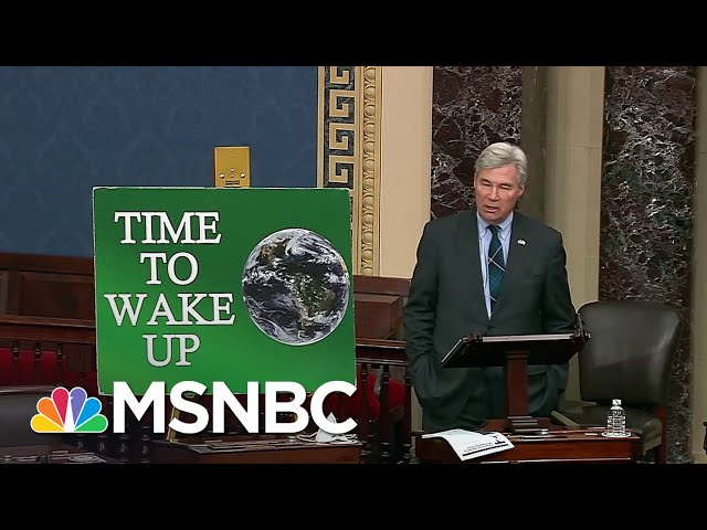 Biden Not Waiting For Congress To Get Started On Climate Action | Rachel Maddow | MSNBC