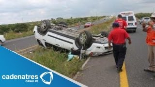 Terrible accidente enluta a la banda Pequeños Musical / Desgracia en el mundo grupero