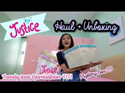 Mystery Box ??? Trendy saat Ramadhan ? Justice Haul + Unboxing 💖 (Indonesia) | Friendship DIY