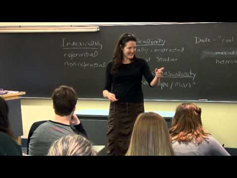 "In Class at IUP: ""Dude"" through the lens of Linguistic Anthropology"