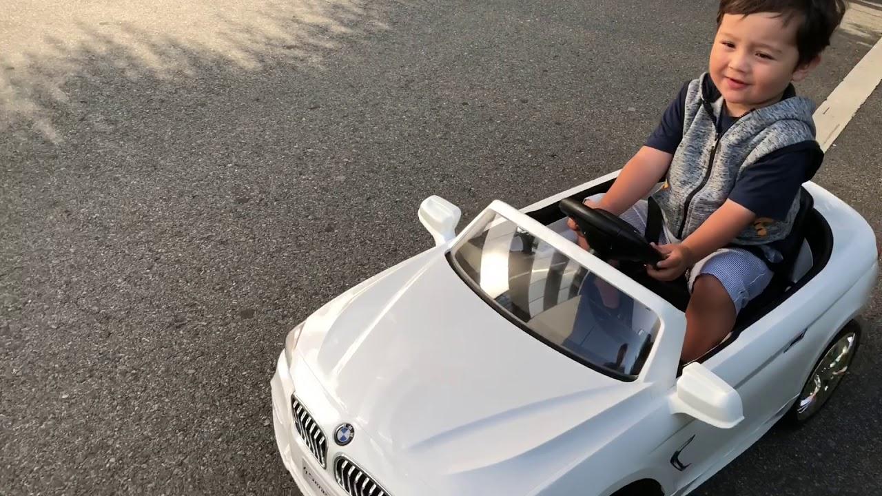 Bmw 4 Kinder Elektroauto - YouTube