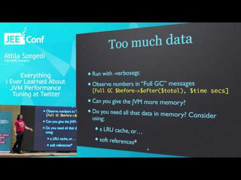 Everything I Ever Learned About JVM Performance Tuning at Twitter (Attila Szegedi, Hungary)