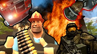 HEAVY BECOMES A FIREFIGHTER