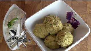How To Make Falafel (non Fried) - Nicko's Kitchen