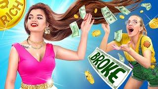 Rich Student vs Broke Student / College Queen!