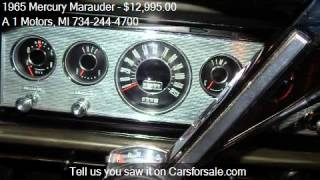 1965 Mercury Marauder FASTBACK for sale in Monroe, MI 48162