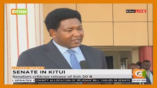 Senators table county revenue bill in Kitui County.