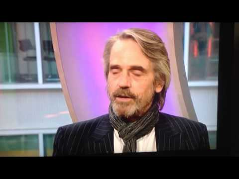 Jeremy Irons refers to his wife as 'his bitch'