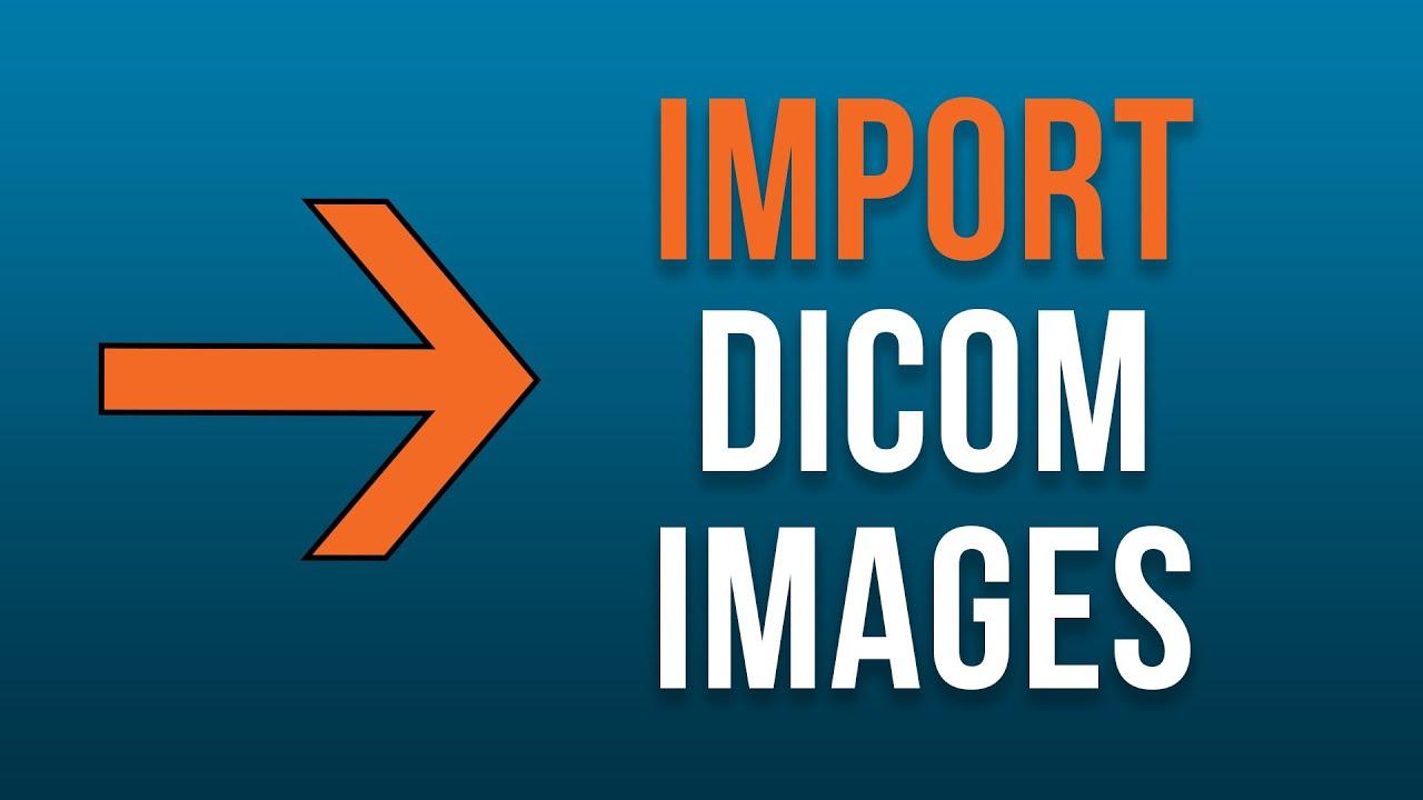 How to Import DICOM Images into your Orthanc DICOM Server