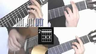Volare Gipsy Kings Guitarra Part 8/8 Guitar Lesson  Full Song www.Farhatguitar.com