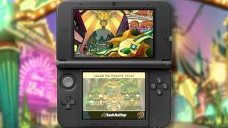 Professor Layton and the Miracle Mask Gameplay Trailer - Nintendo 3DS