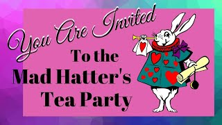 Mad Hatter's Tea Tablescape Challenge 🎩�