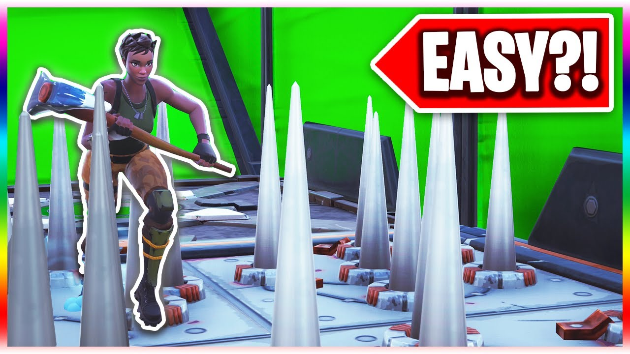 The Super Easy Deathrun For Defaults Easy Or Hard Fortnite Creative Mode