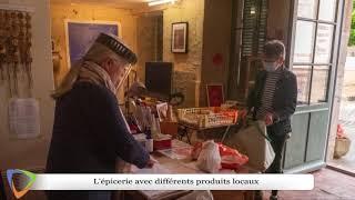 « La maison hirondelle » Association, dans le petit village de Montréal (89) en Bourgogne.