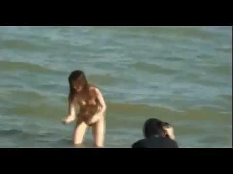 Clip hậu trường người mẫu khỏa thân