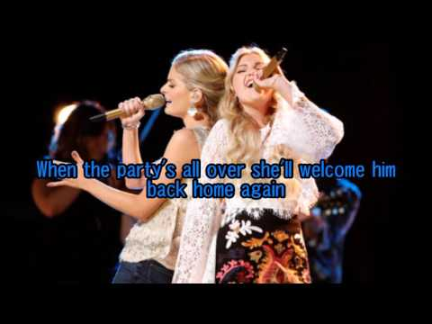 Brennley Brown & Lauren Duski - A Good Hearted Woman (The Voice Performance) - Lyrics