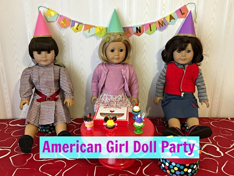 American Girl Doll DIY Ear Piercing Party