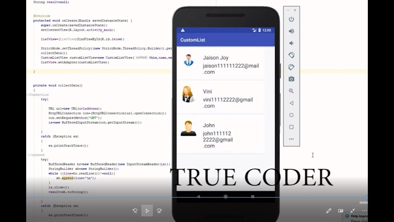 Android Custom Listview with image and textview- Fetch data using php and  mysql