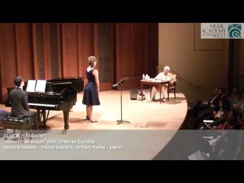 Marilyn Horne Vocal Masterclass June 24, 2015
