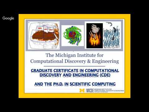The Scientific Computing PhD Program at University of Michig