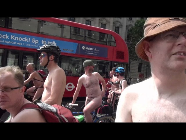 London!s Naked cycle Riide 2016(Full Frontal Nudity) Nude3 11th June 2016