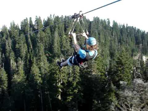 Grouse Mountain Zip Line Leg 5