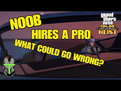 I Pretend to be A NOOB and Hire A Pro to Help Me With the CAYO PERICO Heist!