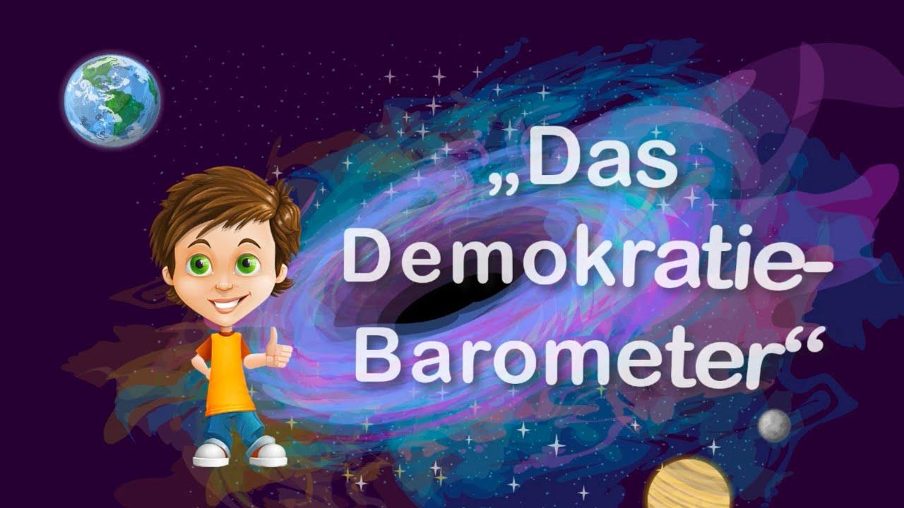 Freaky bekommt ein Demokratie-Barometer vom Planeten I.D.1