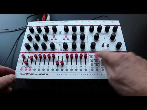 FLAME MÄANDER chord filter sequencing