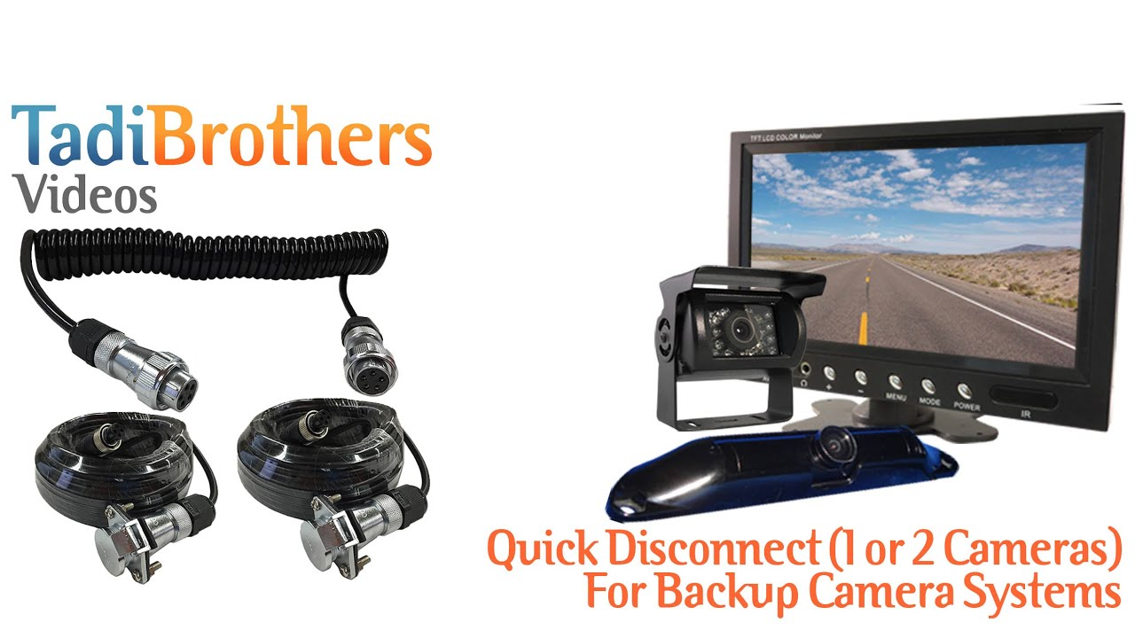 Trailer Quick Disconnect cable for Backup Camera Systems from www ...
