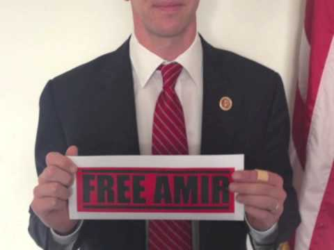FREE AMIR: Members of Congress Agree It Is Time to Free Amir Hekmati