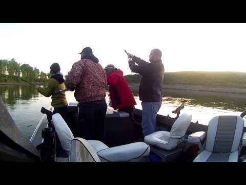 Fishing for Striper on the Feather River - Liquid Image Ego Model 727