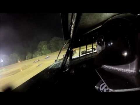 Tyler County Speedway Steel Block Feature 7-7-2016, Zach Milbee GoPro