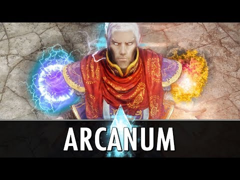 Skyrim Mod: Arcanum