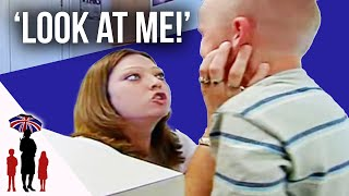 Aggressive Mom's Battles With Her Kids | Supernanny