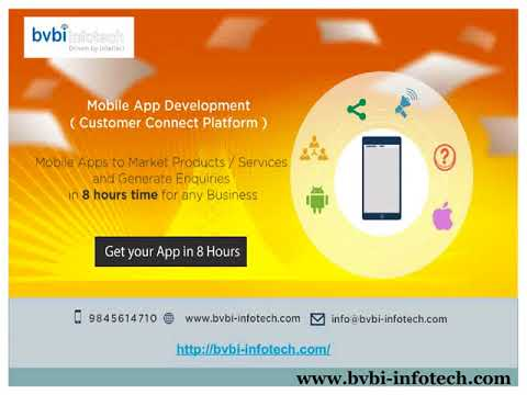 Mobile App Development Company In Bangalore-BVBI Infotech