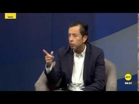 Entrevista al ministro David Tuesta