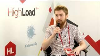 Интервью Владимира Протасова на конференции HighLoad++ от 7.11.16